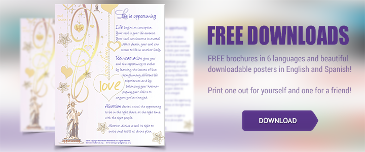 Free brochures and beautiful downloadable posters. Print out one for yourself and a friend!